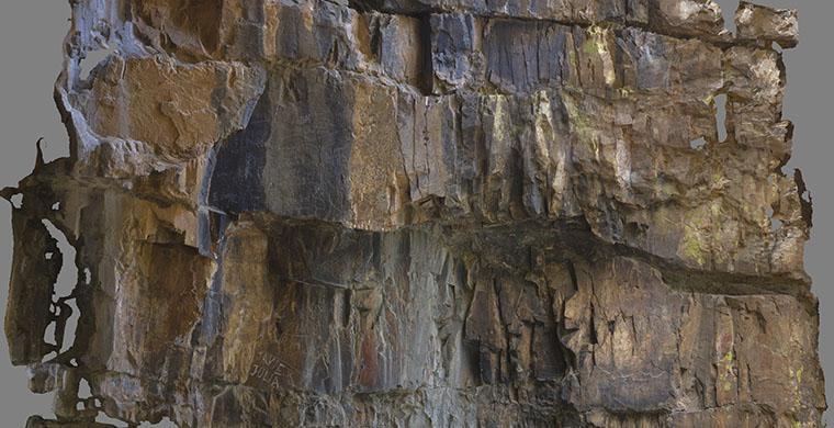Ortofotografía Canchal del Zarzalon, panel 4