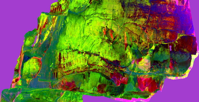 Ortoimagen Majadilla de las Torres I, panel 12. Tratamiento DStretch  crgb125_hs13