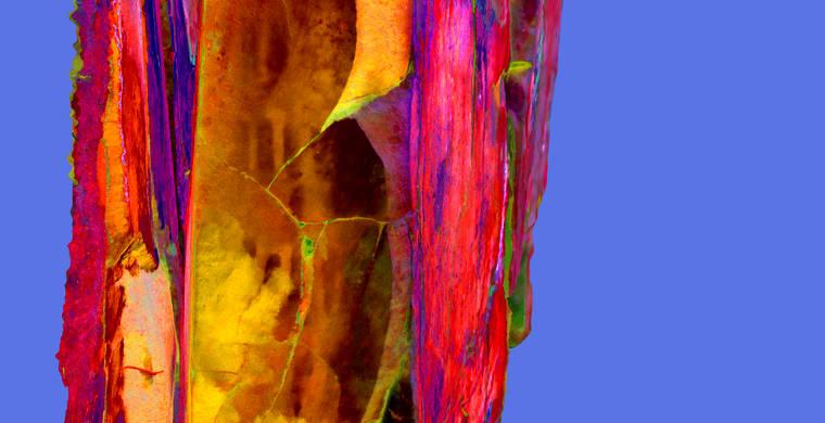 Ortoimagen Majadilla de las Torres I, panel 9. Tratamiento DStretch crgb_hs343