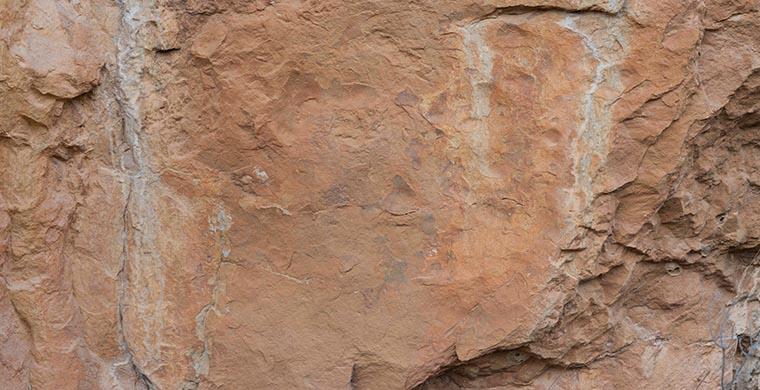 Left hand panel of Cingle dels Tolls del Puntal, real color.